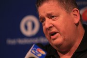 Kansas football coach Charlie Weis discusses his recruiting class during a press conference Wednesday at the Anderson Family Football Complex.