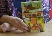 """Tonganoxie author Lisa Harkrader has a new young adult novel """"Beanboy"""" coming out Feb. 14. The book is about Tucker MacBean, a middle school kid who enters a comic book contest."""