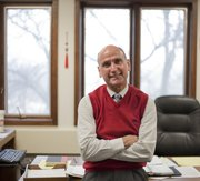 Jim Peters is the new director of the Osher Lifelong Learning Institute, 1515 St. Andrews Dr., at Kansas University.