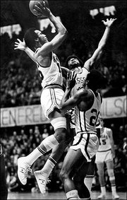 Bud Stallworth from his 50-point game against Missouri at Allen Fieldhouse on Feb. 26, 1972