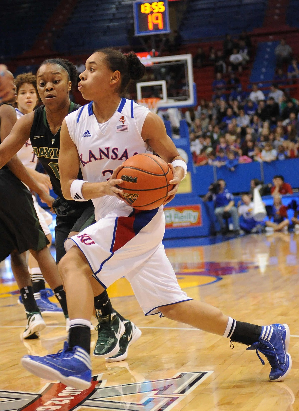 KU women's basketball vs. Baylor / LJWorld.com