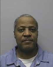 Prison photo of Wilford Molester Galloway, who was convicted of the 1997 shooting of Floyd White in Lawrence. Galloway, after serving 15 years in prison, is eligible for parole in June.