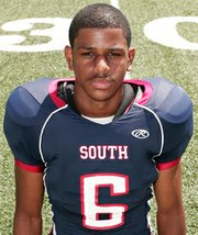 2013 KU football commitment, Kellen Ash, of Parkway South High near St. Louis, Mo.