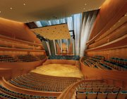Helzberg Hall, where KU School of Music Opera Gala Concert will be performed inside the Kauffman Center, is shown.