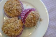 Buttermilk Spice Muffins call for a sugar-and-spice topping and, to boost the health factor, some whole-wheat flour.