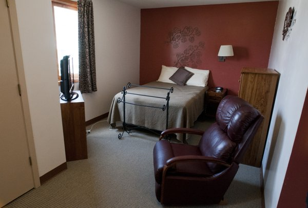 One of the family rooms at Hope Lodge in Kansas City, Mo.