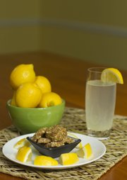 Sarah Henning's ice box lemon bars and two-second lemonade