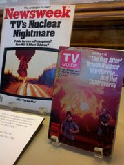 "National publications featuring the 1983 film ""The Day After"" are included in an exhibit on the movie at the Watkins Community Museum of History."
