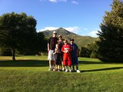 The Dineens went to Park City, Utah, last summer for son Jay's baseball tournament and added days to the trip for a vacation. From left are Joe Jr., Jet, Jodi, Jax and Jay Dineen.