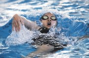 Free State sophomore Lucy Sirimongkhon-Dyck placed sixth in the 200-yard individual medley prelim on Friday with a 2:16.69 finish to advance to the 6A state championship final on Saturday in Topeka.