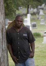 Frank Demby has been a cemetery caretaker at Oak Hill, Memorial Park and Maple Grove cemeteries for 29 years.