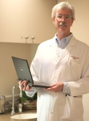 Dr. Joe Davison, the KHIE board chair and a doctor who practices with West Wichita Family Practice.