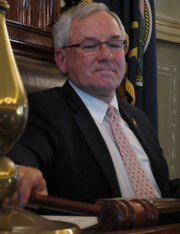 Kansas House Speaker Mike O'Neal, R-Hutchinson, announced his retirement from the legislature on June 1, 2012.