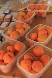 It's been a fruitful season for those searching for apricots at Lawrence farmers' markets.