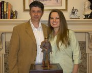 Steve and Margaret Allen, owners of Timewalker Toys & Collectibles, hope to have their first World War I toy available this fall.