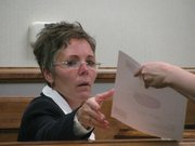 Kansas City, Kan. Schools Superintendent Cynthia Lane testifies Monday in school finance lawsuit.