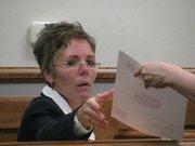 Kansas City, Kan. Schools Superintendent Cynthia Lane testifies Monday in school finance lawsuit.