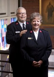 Wes and Susan Dalberg, corps officers of the Salvation Army, 945 New Hampshire, will be leaving their posts and relocating to Decatur, Illinois to serve in the same capacity after seven years in Lawrence. Nick