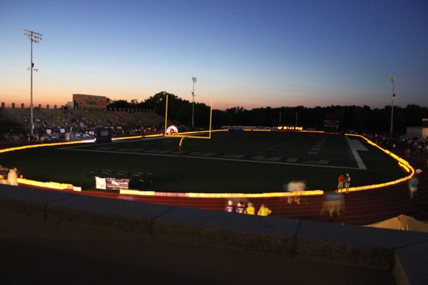 A view of the 2012 Relay For Life of Douglas County during the luminary ceremony.