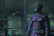 "In this film image released by Warner Bros., Christian Bale portrays Bruce Wayne and Batman in a scene from ""The Dark Knight Rises."""