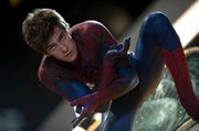 "In this film image released by Sony Pictures, Andrew Garfield is shown in a scene from ""The Amazing Spider-Man,"" set for release on July 3."