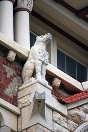 Grotesque on Dyche Hall