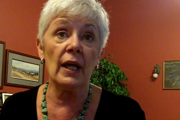 Kansas Insurance Commissioner Sandy Praeger.
