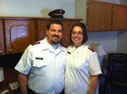 Matt and Marisa McCluer are the Salvation Army's new lieutenants who will serve as the leaders of the charitable organization in Lawrence.