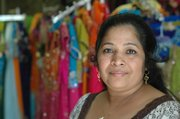 Amrutha Ravikumar, Lawrence, owns Cosmos Indian Store at 734 Massachusetts St.
