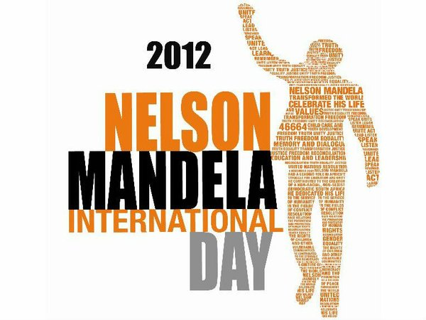 Poster for Nelson Mandela Day in Africa