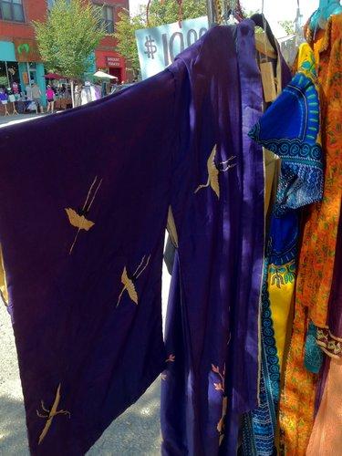 Kimono, $10, Blackbird Trading Post