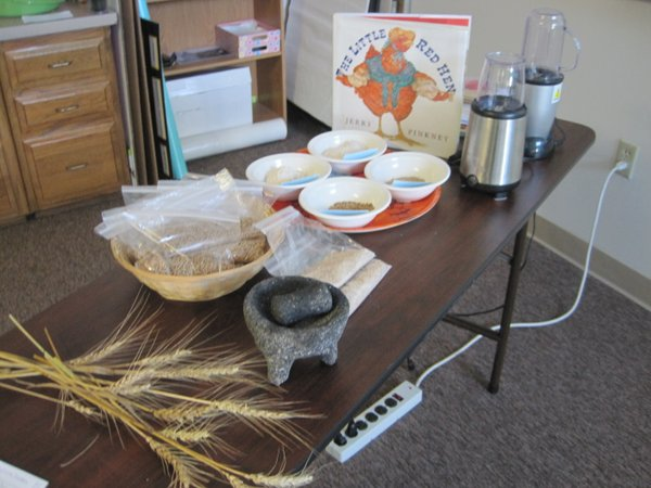 Early educators learned all about whole grains at the What's On Your Plate Training