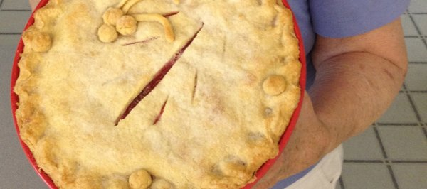 Aliene Bieber's cherry pie