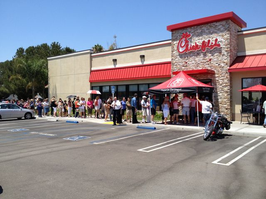 millions turn out to support Chic-Fil-A