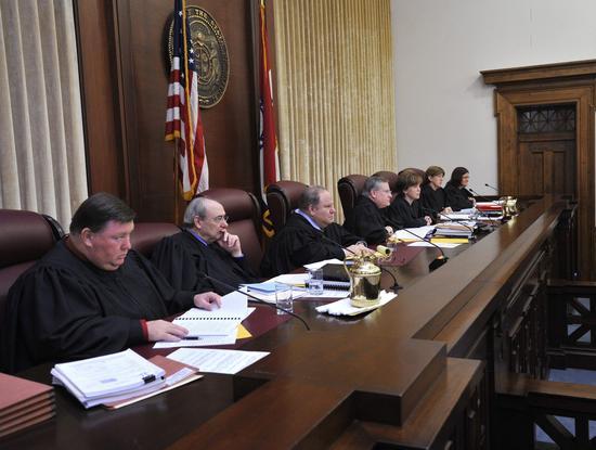 Missouri Supreme Court justices.