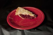 Cherry Pie, submitted by Mary Ann Tindell, was among winning entries in the 2012 Douglas County Fair food preparation contests.