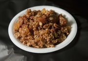 Tropical Island Granola, submitted by Frances Parker, was among winning entries in the 2012 Douglas County Fair food preparation contests.