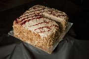 Peanut Butter and Jam Cake, submitted by Karen Schneck, was among winning entries in the 2012 Douglas County Fair food preparation contests.
