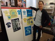 Donald Lee is a former employee of ACME, 847 Mass., who now designs T-shirts for Tommy Hilfiger.