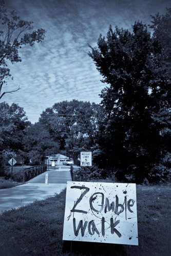 The ZOMBIE walk was a great success! A big thank you again to the volunteers and participants who made this possible!