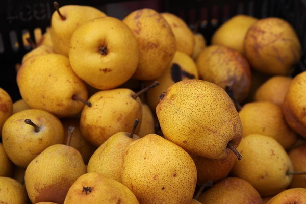 Fresh, local, chemical free pears are available this week at Cottin's Hardware Farmers Market!