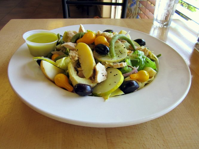 Salad Nicoise from WheatFields Bakery Café