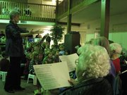 Cadenza and Crescendo choirs perform at Drury Place at Alvamar, 1510 St. Andrews Drive. Crescendo is a choir for seniors offered through Lawrence Children's Choir.