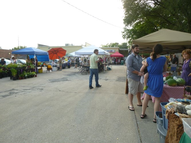 Cottin's Hardware Farmers Market offers a wide selection of local produce and more - Thursdays, 4:00 pm - 6:30 pm.