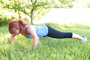 There are many push-up modifications for beginners or for working different muscle groups.