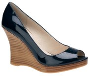 Wedges, like this example from Steve Madden, can carry you from summer into fall.