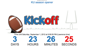 Countdown to kickoff 2012
