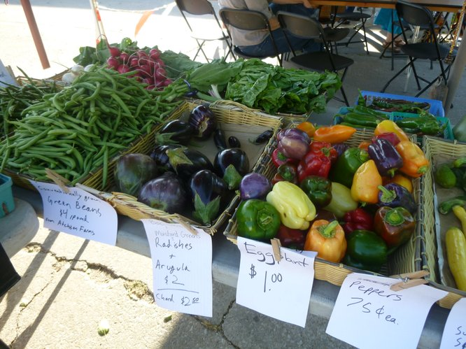 Locally grown fresh produce is is still available at Farmers Markets across the state.