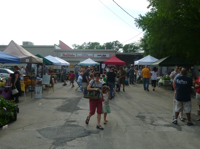 Cottin's Hardware Farmers Market is held every Thursday through October in the back parking lot of Cottin's Hardware & Rental.