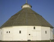 The historic round barn in Mullinville, Kan. (credit: Marci Penner)